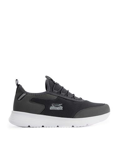 Slazenger Slazenger GENOA Sneaker Erkek Ayakkabı Haki Gri